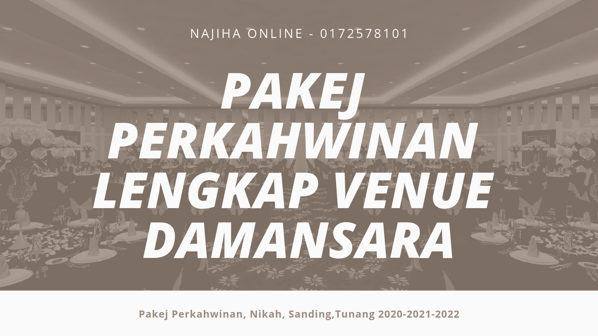 Pakej-Perkahwinan-Lengkap-Venue-Damansara