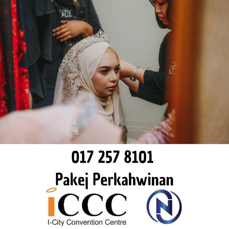 Iccc-Convention-Centre-Shah-Alam-Pakej Perkahwinan-0172578101-najiha-online