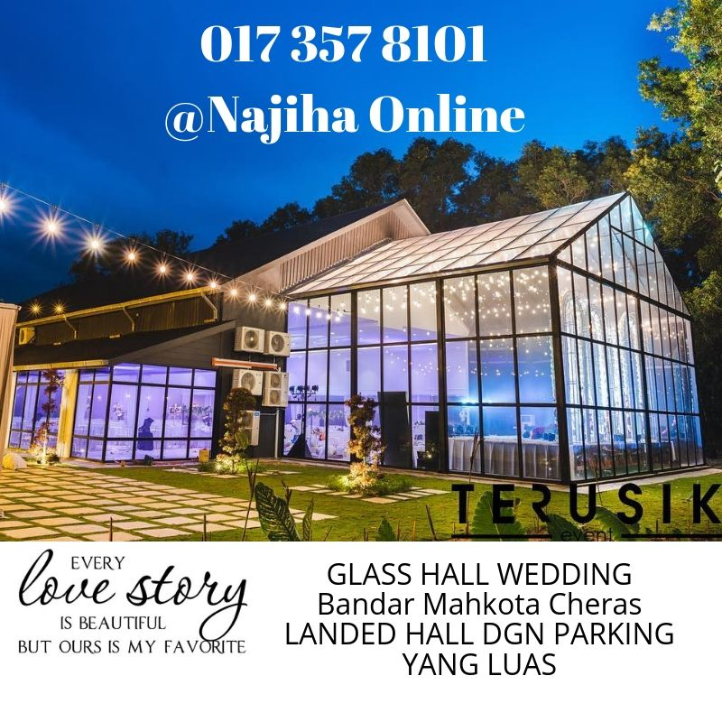 Pakej-Nikah-Sanding-Forest-Valley-Hall-Mahkota-Cheras
