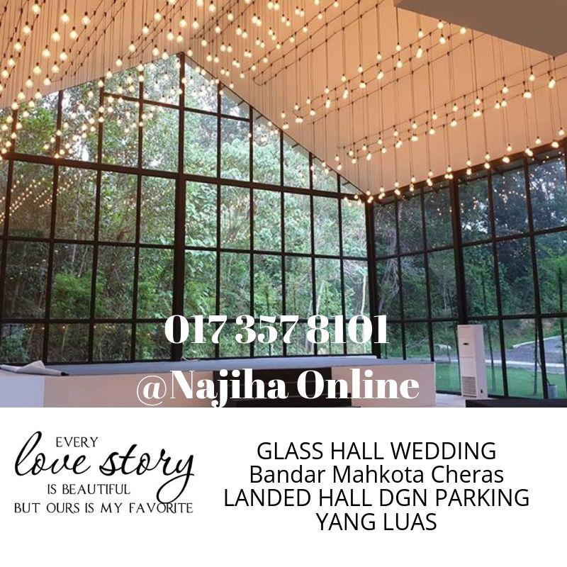 najiha-online-0172578101-pakej-perkahiwnan-forest-valley-hall-mahkota-cheras